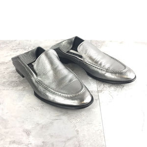rag & bone Gunmetal Grey Alix Loafer Sz 40